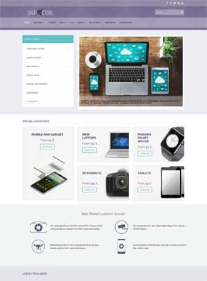 Shopstore Template